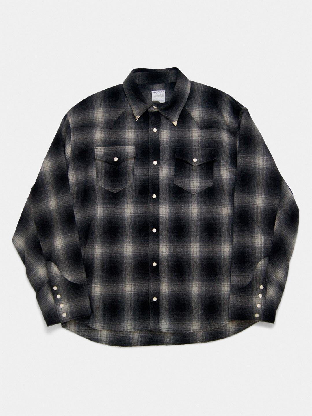OMBRE CHECK WESTEN SHIRT